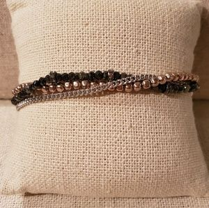 Stella & Dot Fortitude Wishing Bracelet